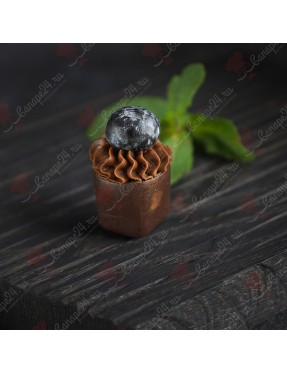 Шоколадный стаканчик с черникой (шоколад)